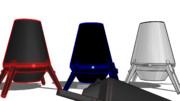 【MMDケムリクサ】 ムシ(アカムシ) 大型 ver1.0【モデル配布】