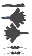 VF-22シュトゥルムフォーゲルⅡ 航空自衛隊仕様