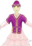 八雲紫の民族衣装アレンジ
