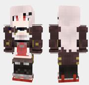 ダンケルク Minecraft Skin アズールレーン
