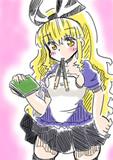 涼しい格好をしてみたアリスお姉さん