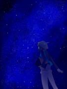 夜空に浮かび、瞬く星たちよ