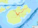 地図帳風地図ロデニウス大陸