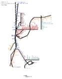 熊本県路線図 2019-05