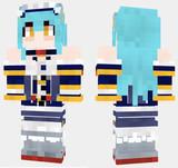 ネプチューン アズールレーン Minecraft Skin