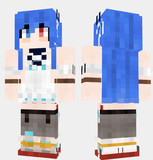 伊吹 アズールレーン Minecraft Skin