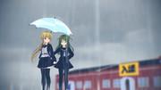 【とある梅雨の日ver4】風邪ひくぞ