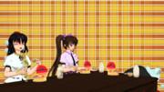 【第11回東方ニコ童祭ED絵】『酒が進む肴』(東方MMD)