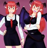いたずら好きな双子悪魔