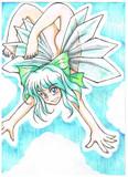 初夏の氷妖精さん
