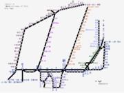 山口県路線図 2019-05