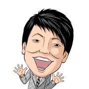 【いざお絵No.017】いざ!パンクブーブー哲夫氏の似顔絵描いてみた。お笑い好上委員会。