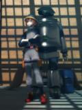ロッカとロボットと