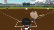 ホームランダービーに挑戦する熊野