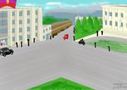幻想郷ソビエト時代の広場