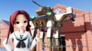 新しい戦車【MMDガルパン】【MMDダグラム】