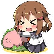 桜餅うにょーん