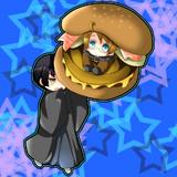 昨年の某ハンバーガー復活記念絵