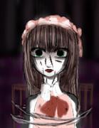【お人形さん】男の娘ショタ【ホラー注意】