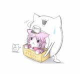 ガリバルディ猫を拾った深海浮き輪