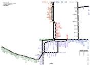 鹿児島県路線図 2019-05