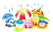 カナシミの雨には【色鉛筆画】