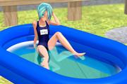 【MMD】水遊び