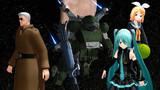 【MMD-OMF9】装甲新騎兵ボトムズX【参加静画】
