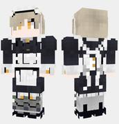 シェフィールド アズールレーン Minecraft Skin