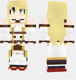 オーロラ  アズールレーン Minecraft Skin