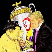 トランプ大統領相撲観戦で・・・