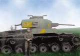 知波單學園 九七式中戰車 新砲塔チハ 硫黄島演習