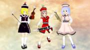 【モデル配布】すけ式改変プリズムリバー三姉妹