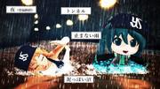 【MMD静画で】止まない雨と泥沼と長いトンネルと明けない夜【2019燕5月】