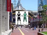 グリーンフラッシュとブラックマスクが多摩センターのサンリオピューロランに来た!
