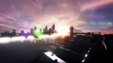 【MMD】モブハッタンの夕焼け