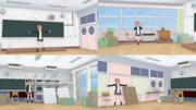 S高校奉仕部部室ステージ【MMDステージ配布あり】