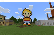 マイクラでMOTHER3のリュカ作ってみた。