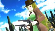 【第3期MMD銃聖戦】銃聖西部劇玲霞さん・最初の一枚