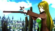 【第3期MMD銃聖戦】銃聖レバーアクション玲霞さん・天