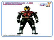 仮面ライダーダークカブトライダーフォーム(ロックマンゼロ)