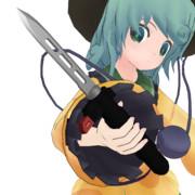 【MMDモデル配布】スペツナズナイフです!