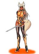 対魔なシノビの妖狐さん