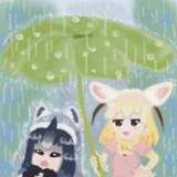 雨なのだ!(うごくバージョン)
