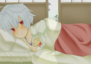 「一人でも寝れるもん」