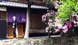 京都で一枚(トリミング版)