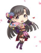 SD紗枝はん(羽衣小町衣装)