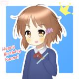 牧野かんなちゃん誕生日おめでとう♪