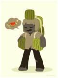 砂漠で食うスイカはきっと旨い