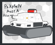 Ⅳ号戦車A型(警察仕様)
